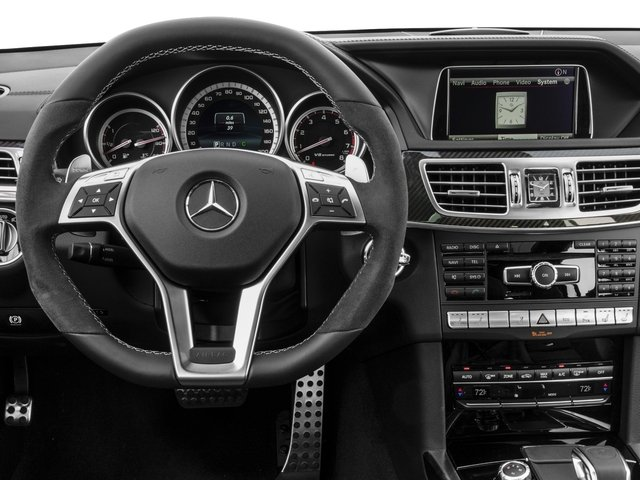 2016 Mercedes-Benz E-Class Prices and Values Wagon 4D E63 AMG S AWD V8 Turbo driver's dashboard