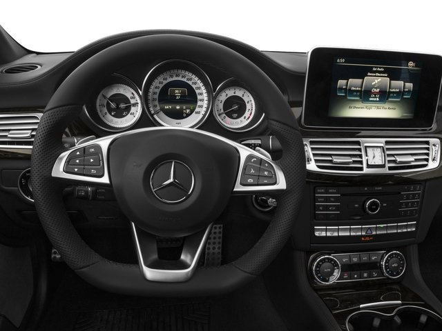 2016 Mercedes-Benz CLS Pictures CLS Sedan 4D CLS550 V8 Turbo photos driver's dashboard