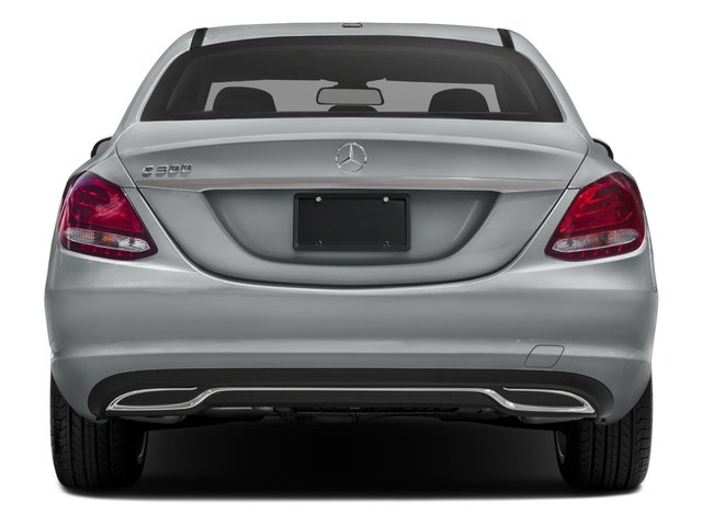 2016 Mercedes-Benz C-Class Prices and Values Sedan 4D C300 AWD I4 Turbo rear view