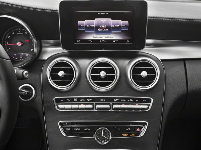 2016 Mercedes-Benz C-Class Prices and Values Sedan 4D C300 AWD I4 Turbo stereo system