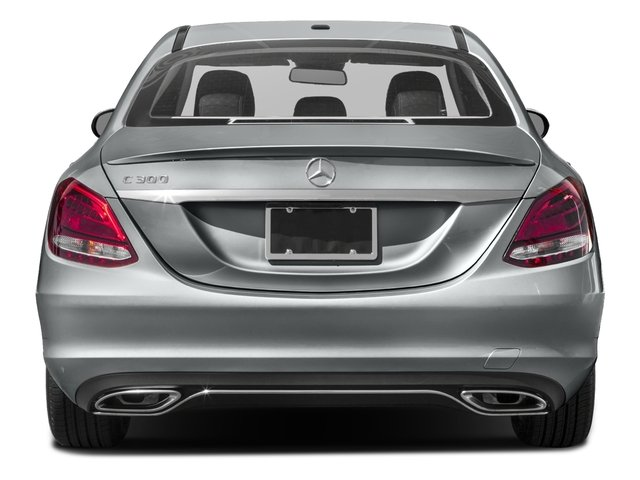 2016 Mercedes-Benz C-Class Prices and Values Sedan 4D C300 I4 Turbo rear view