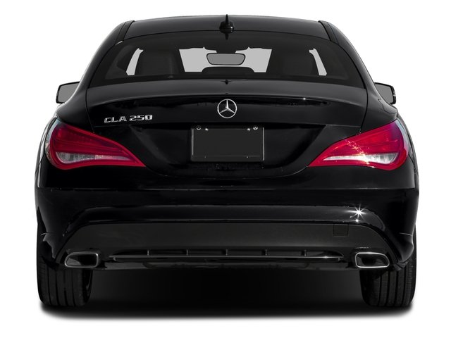 2016 Mercedes-Benz CLA Prices and Values Sedan 4D CLA250 I4 Turbo rear view