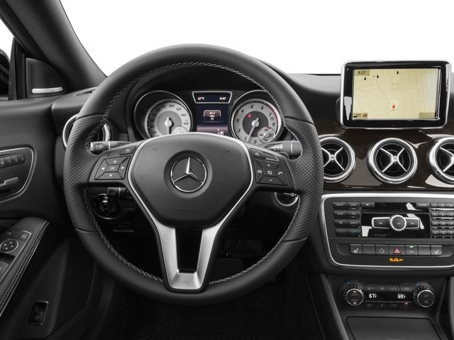 2016 Mercedes-Benz CLA Prices and Values Sedan 4D CLA250 I4 Turbo driver's dashboard