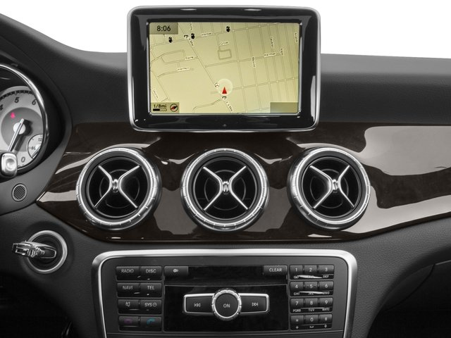 2016 Mercedes-Benz CLA Prices and Values Sedan 4D CLA250 I4 Turbo navigation system