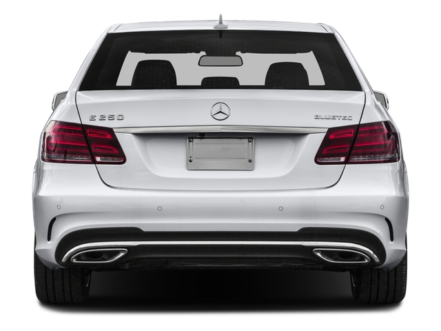 2016 Mercedes-Benz E-Class Prices and Values Sedan 4D E250 BlueTEC AWD I4 T-Diese rear view