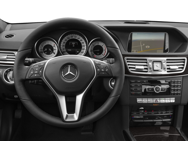 2016 Mercedes-Benz E-Class Prices and Values Sedan 4D E250 BlueTEC AWD I4 T-Diese driver's dashboard