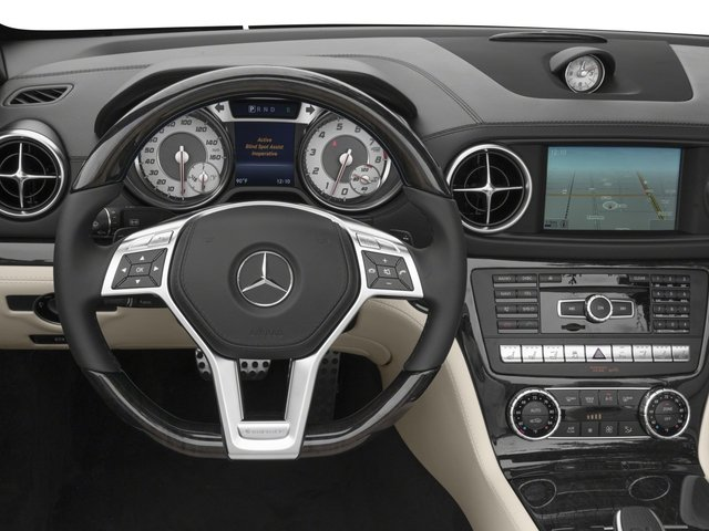 2016 Mercedes-Benz SL Prices and Values Roadster 2D SL400 V6 Turbo driver's dashboard