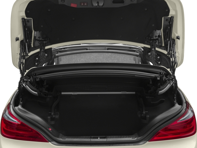 2016 Mercedes-Benz SL Prices and Values Roadster 2D SL400 V6 Turbo open trunk