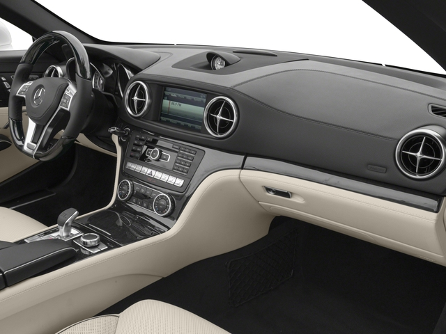 2016 Mercedes-Benz SL Prices and Values Roadster 2D SL400 V6 Turbo passenger's dashboard