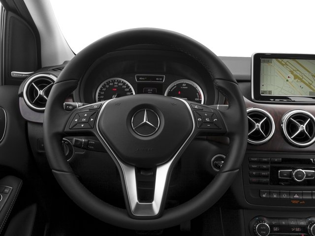 2016 Mercedes-Benz B-Class Prices and Values Hatchback 5D Electric Drive driver's dashboard