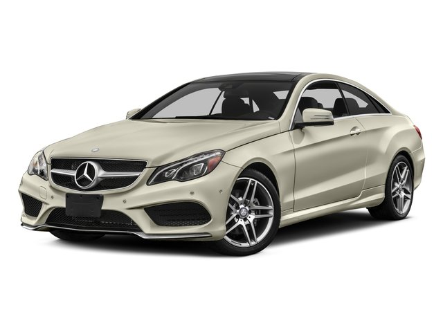 2016 Mercedes-Benz E-Class Prices and Values Coupe 2D E400 V6 Turbo side front view