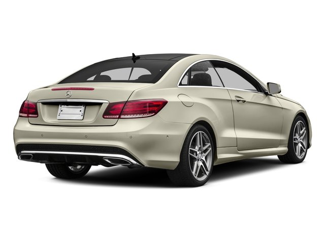 2016 Mercedes-Benz E-Class Prices and Values Coupe 2D E400 V6 Turbo side rear view