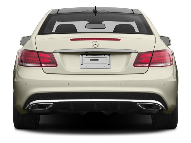 2016 Mercedes-Benz E-Class Prices and Values Coupe 2D E400 V6 Turbo rear view