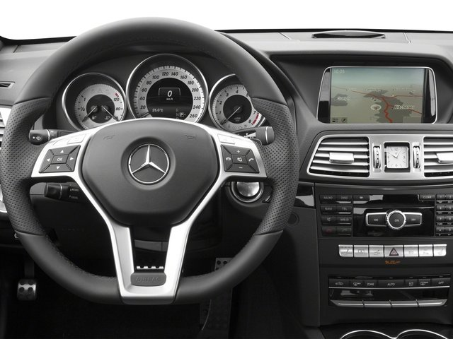 2016 Mercedes-Benz E-Class Prices and Values Coupe 2D E400 V6 Turbo driver's dashboard