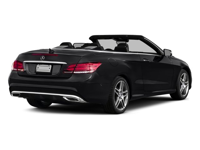 2016 Mercedes-Benz E-Class Prices and Values Convertible 2D E400 V6 Turbo side rear view