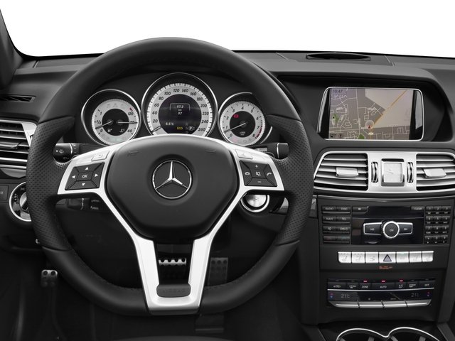2016 Mercedes-Benz E-Class Prices and Values Convertible 2D E400 V6 Turbo driver's dashboard