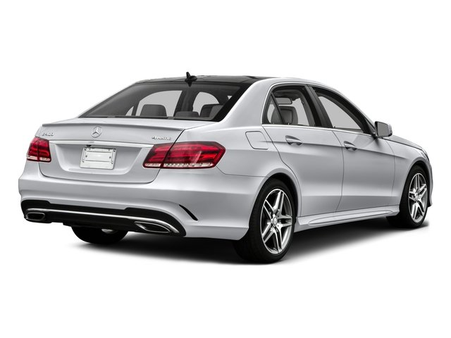 2016 Mercedes-Benz E-Class Prices and Values Sedan 4D E400 V6 Turbo side rear view