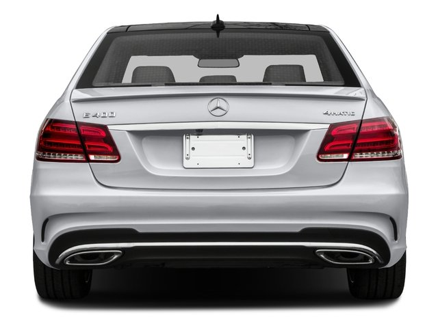 2016 Mercedes-Benz E-Class Prices and Values Sedan 4D E400 V6 Turbo rear view