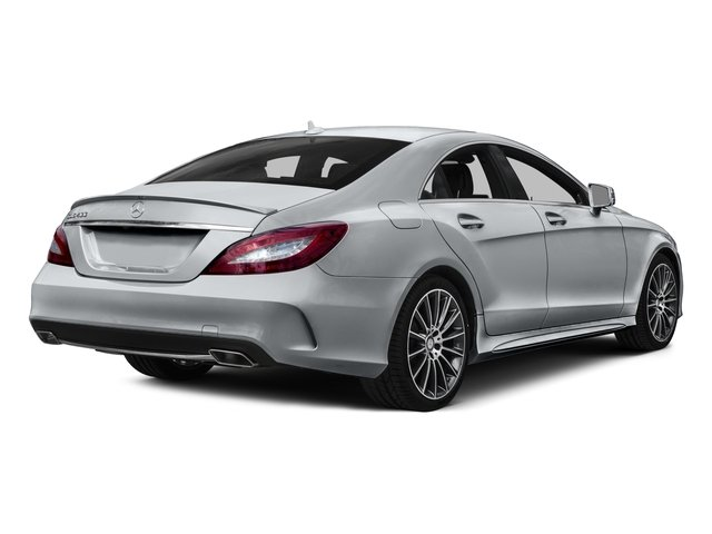 2016 Mercedes-Benz CLS Pictures CLS Sedan 4D CLS400 V6 Turbo photos side rear view