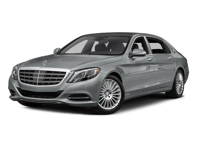 2016 Mercedes-Benz S-Class Prices and Values Sedan 4D S600 Maybach V12 Turbo side front view
