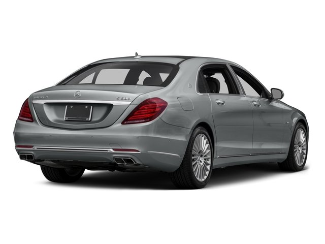 2016 Mercedes-Benz S-Class Prices and Values Sedan 4D S600 Maybach V12 Turbo side rear view