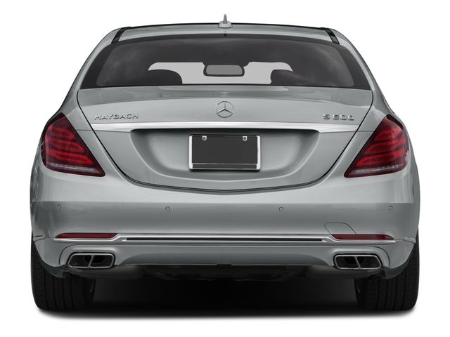 2016 Mercedes-Benz S-Class Prices and Values Sedan 4D S600 Maybach V12 Turbo rear view
