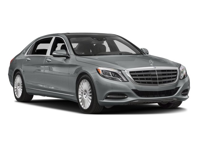 2016 Mercedes-Benz S-Class Pictures S-Class Sedan 4D S600 Maybach V12 Turbo photos side front view