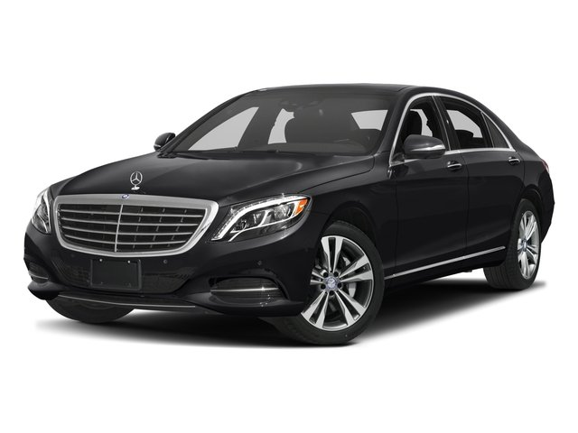 2016 Mercedes-Benz S-Class Prices and Values Sedan 4D S550e V6 Turbo side front view