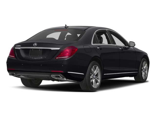 2016 Mercedes-Benz S-Class Prices and Values Sedan 4D S550e V6 Turbo side rear view