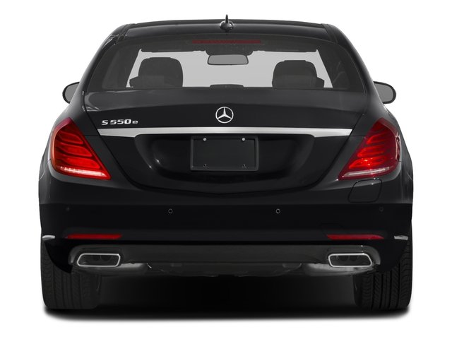 2016 Mercedes-Benz S-Class Prices and Values Sedan 4D S550e V6 Turbo rear view