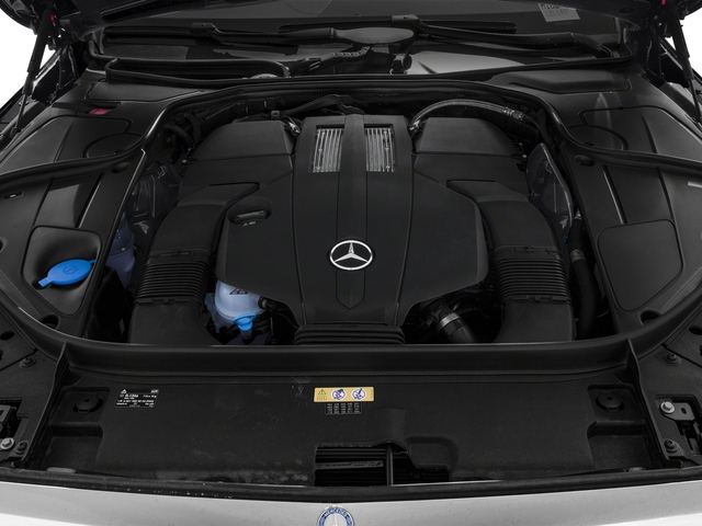 2016 Mercedes-Benz S-Class Prices and Values Sedan 4D S550e V6 Turbo engine