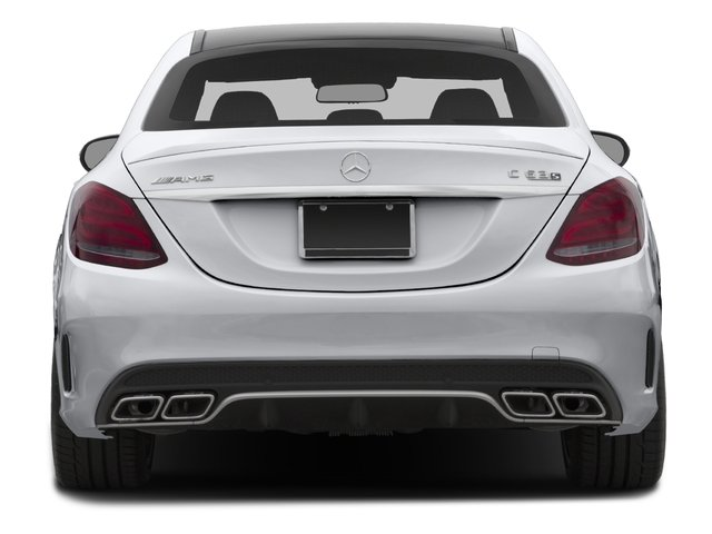 2016 Mercedes-Benz C-Class Prices and Values Sedan 4D C63 AMG S V8 Turbo rear view