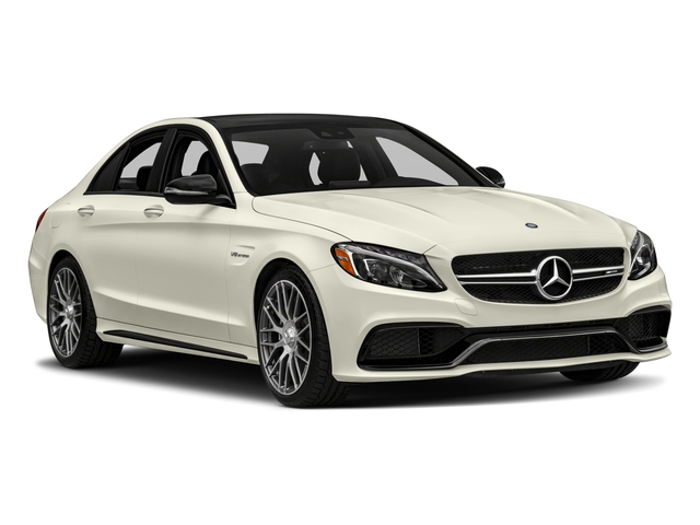 2016 Mercedes-Benz C-Class Prices and Values Sedan 4D C63 AMG V8 Turbo side front view