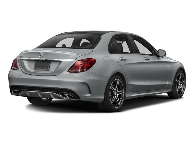 2016 Mercedes-Benz C-Class Pictures C-Class Sedan 4D C450 Sport AMG AWD V6 Turbo photos side rear view