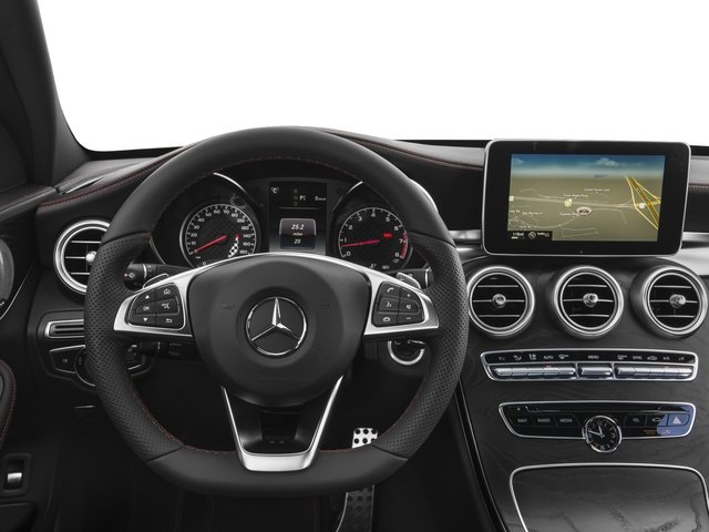2016 Mercedes-Benz C-Class Prices and Values Sedan 4D C450 Sport AMG AWD V6 Turbo driver's dashboard