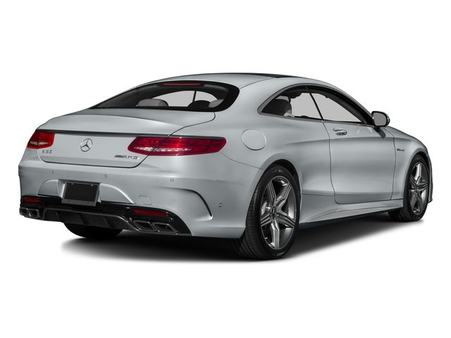 2016 Mercedes-Benz S-Class Pictures S-Class Coupe 2D S63 AMG AWD V8 Turbo photos side rear view