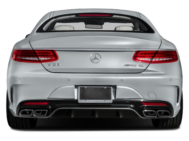 2016 Mercedes-Benz S-Class Prices and Values Coupe 2D S63 AMG AWD V8 Turbo rear view