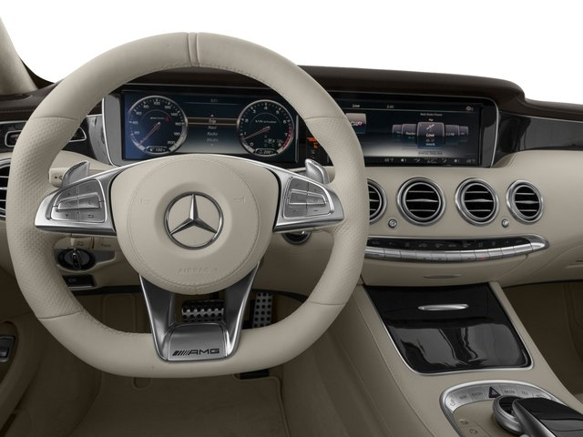 2016 Mercedes-Benz S-Class Prices and Values Coupe 2D S63 AMG AWD V8 Turbo driver's dashboard