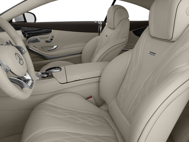 2016 Mercedes-Benz S-Class Prices and Values Coupe 2D S63 AMG AWD V8 Turbo front seat interior