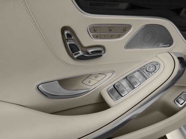 2016 Mercedes-Benz S-Class Prices and Values Coupe 2D S63 AMG AWD V8 Turbo driver's side interior controls