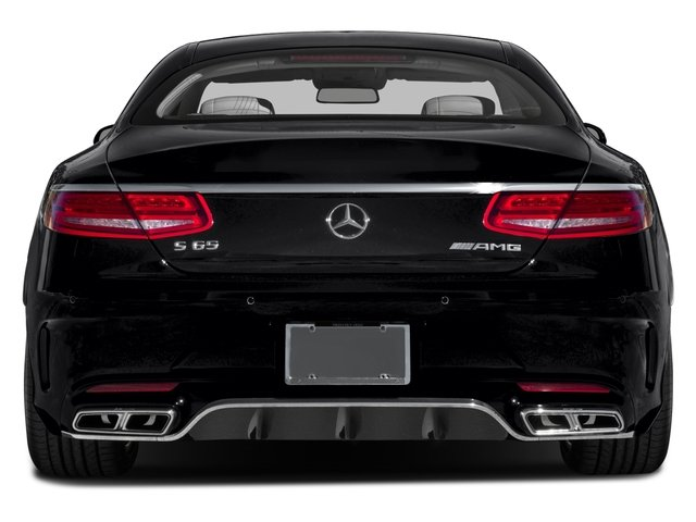 2016 Mercedes-Benz S-Class Prices and Values 2 Door Coupe Rear Wheel Drive rear view