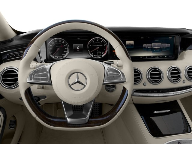 2016 Mercedes-Benz S-Class Prices and Values 2 Door Coupe Rear Wheel Drive driver's dashboard