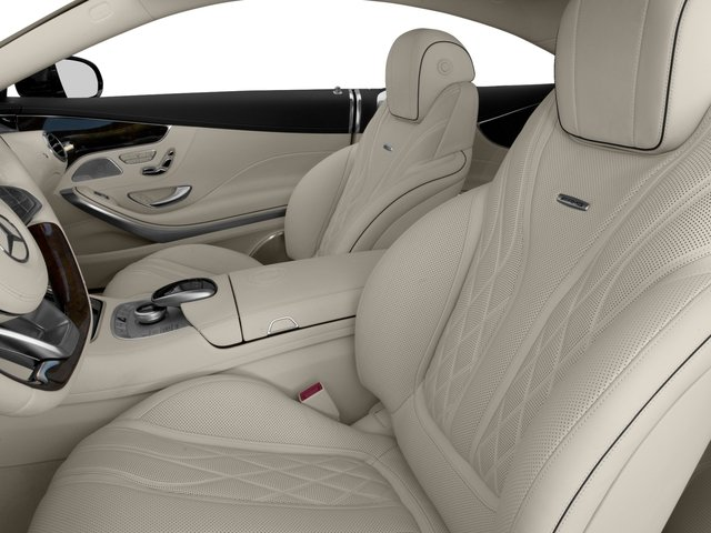 2016 Mercedes-Benz S-Class Prices and Values 2 Door Coupe Rear Wheel Drive front seat interior