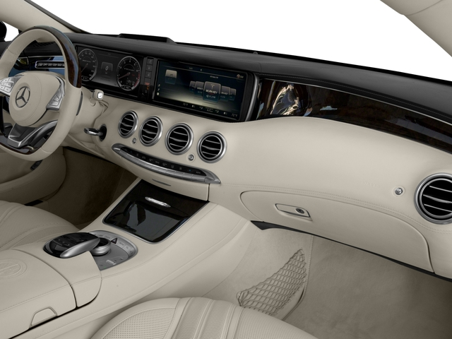 2016 Mercedes-Benz S-Class Prices and Values 2 Door Coupe Rear Wheel Drive passenger's dashboard