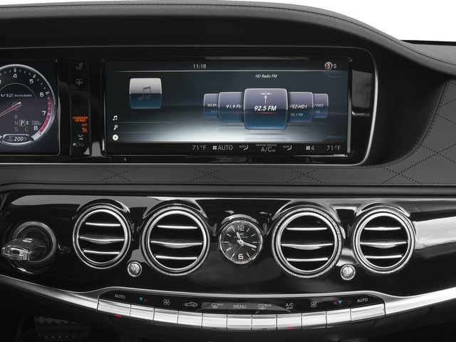 2016 Mercedes-Benz S-Class Pictures S-Class 4 Door Sedan Rear Wheel Drive photos stereo system