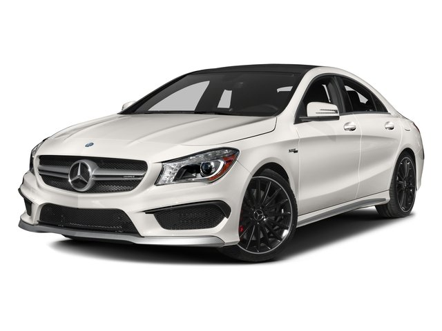 2016 Mercedes-Benz CLA Prices and Values Sedan 4D CLA45 AMG AWD I4 Turbo side front view
