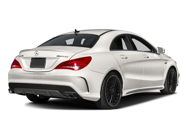 2016 Mercedes-Benz CLA Prices and Values Sedan 4D CLA45 AMG AWD I4 Turbo side rear view