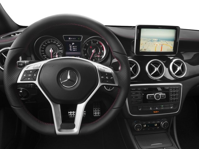 2016 Mercedes-Benz CLA Prices and Values Sedan 4D CLA45 AMG AWD I4 Turbo driver's dashboard