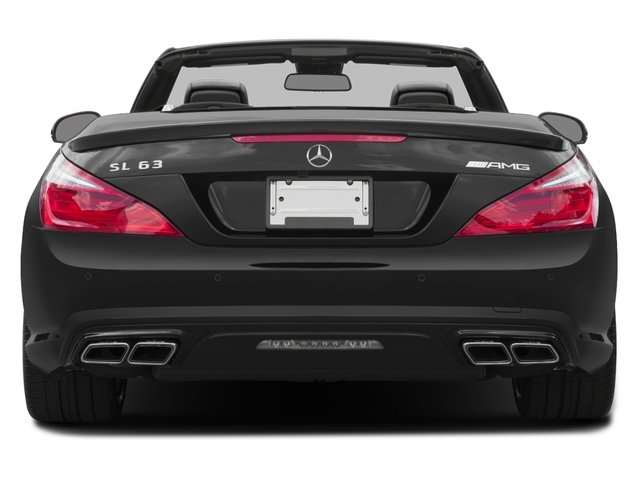 2016 Mercedes-Benz SL Prices and Values Roadster 2D SL63 AMG V8 Turbo rear view