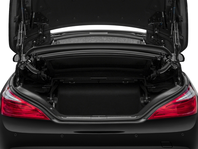 2016 Mercedes-Benz SL Prices and Values Roadster 2D SL63 AMG V8 Turbo open trunk
